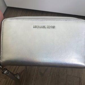 MICHAEL Michael Kors Bags - Michael Kors Rainbow Iridescent Wristlet Wallet